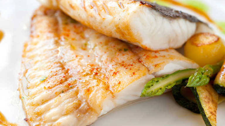 Cocina con Sergio -  Rodaballo en crema de anchoas