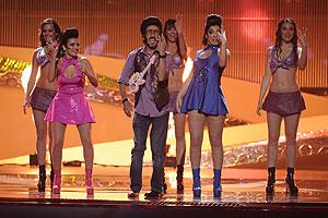 """Rodolfo Chikilicuatre fue el representante en 2008 en Belgrado con """"Baila el chiki chiki"""""""