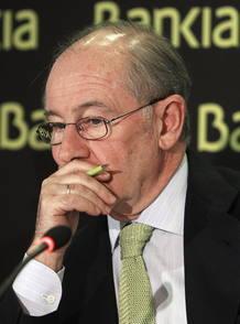 Rodrigo Rato dimitía como presidente de Bankia el pasado día 7 de mayo