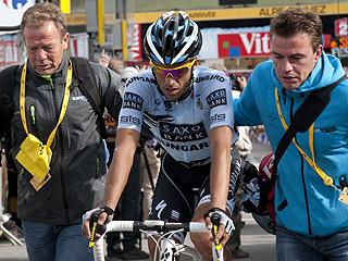 Ver vídeo  'Rolland impide la gesta de Contador en Alpe d'Huez'