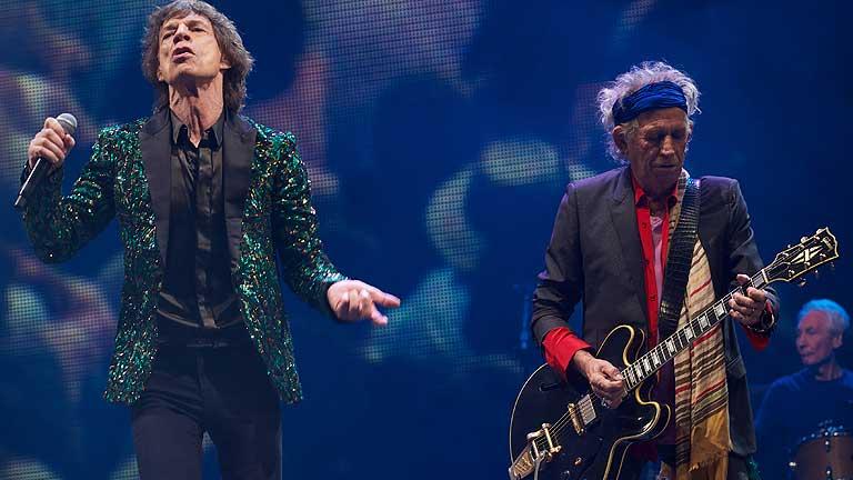 Los Rolling Stones 'debutan' en Glastonbury