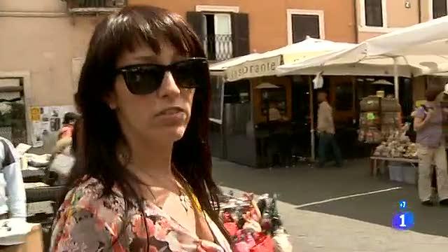 Españoles en el mundo - Roma - M. Angeles