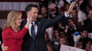 Ver vídeo  'Romney aventaja a Santorum al ganar en Michigan y Arizona'