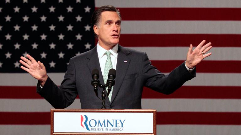 """Romney reitera que el matrimonio es """"la unión de un hombre y una mujer"""""""