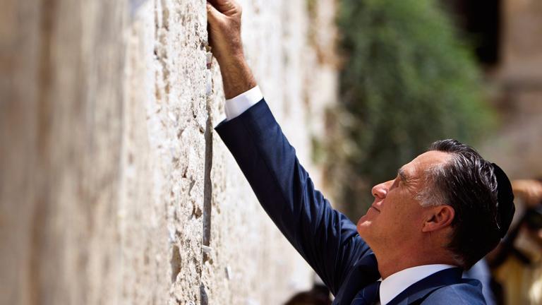 Israel, una posible puerta para Romney para las elecciones estadounidenses