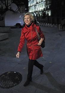ROSA DÍEZ SIGUE CON SU EQUIPO DESDE UN HOTEL DE MADRID LA JORNADA ELECTORAL