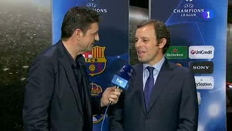 """Ver v?deo  'Rosell: """"Han ganado los valores del Barça""""'"""