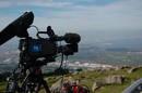 veo las cámaras de RTVE a pie de pista