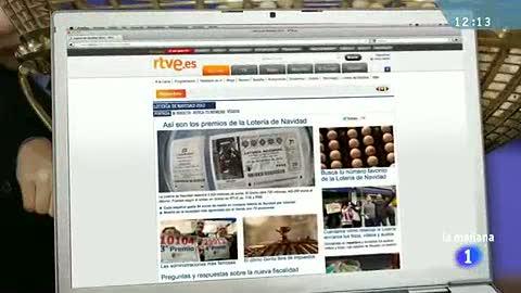 Ver vídeo  'RTVE.es te avisa si te toca la Lotería de Navidad'