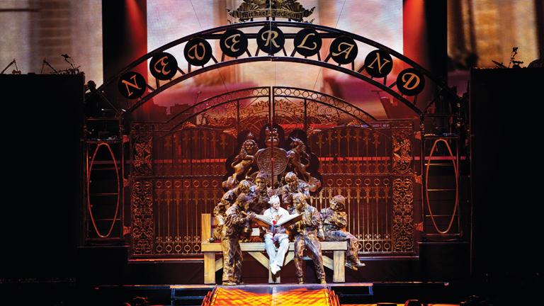 RTVE.es en el comienzo de la gira europea 'Michael Jackson,The immortal ' del Cirque du Soleil