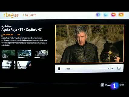 Ver vídeo  'RTVE.es da el salto al televisor con seis grandes aplicaciones para consolas y TV conectadas'