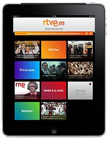 RTVE.es llega la televisión al iPad