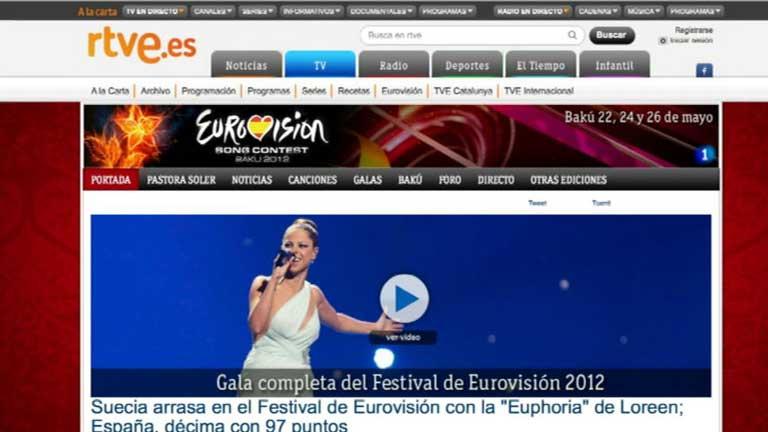 RTVE.es alcanza los 12,7 millones de usuarios en mayo y sigue como líder