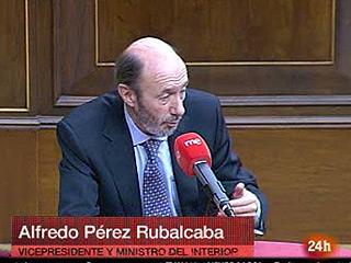 Ver vídeo  'Rubalcaba habla de ETA, Wikileaks y su vida política'