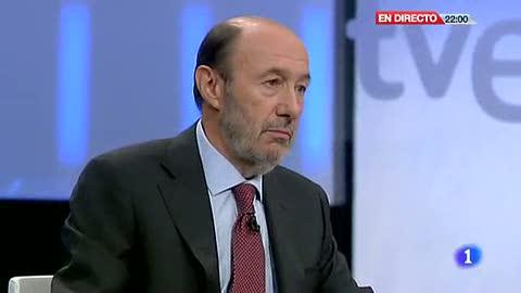 Ver vídeo  'Rubalcaba: Hay muchísima desafección política entre los ciudadanos'