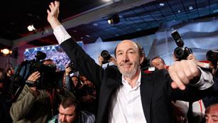 Ver vídeo  'Rubalcaba, nuevo Secretario General del PSOE'