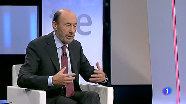 Rubalcaba: &quot;No es quien Europa para decirte c&oacute;mo tienes que hacer el ajuste&quot;