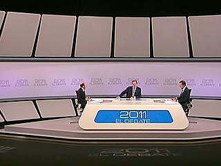 Ver vídeo  'Rubalcaba y Rajoy celebran el fin de ETA'