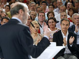 Ver vídeo  'Rubalcaba ya es oficialmente candidato del PSOE a la presidencia del Gobierno'