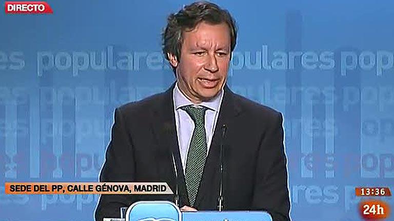 El PP reconoce que Escudero no declaró el préstamo que le dio de 24.000 euros