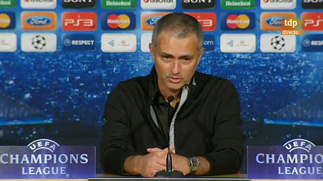 Rueda de prensa de Mourinho tras la eliminaci&oacute;n en semifinales de la Champions League ante el Bayern de M&uacute;nich