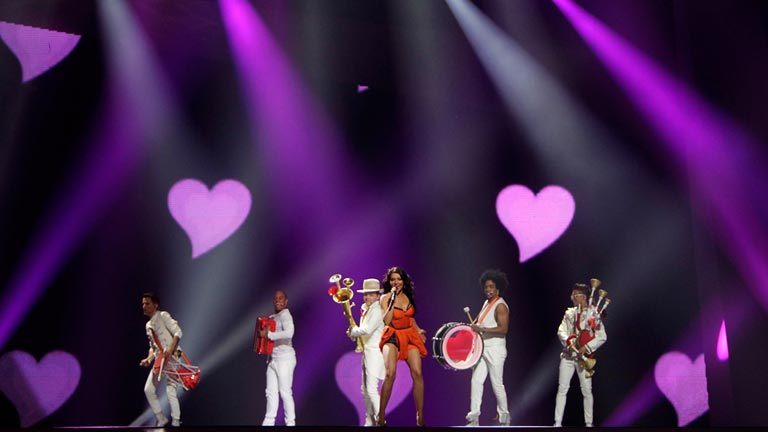 Ruman&iacute;a Eurovisi&oacute;n 2012 - Mandinga - 1&ordf; semifinal