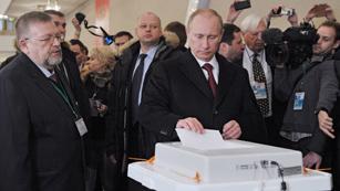Ver vídeo  'Rusia elige al sucesor de Medvédev en la presidencia del país'