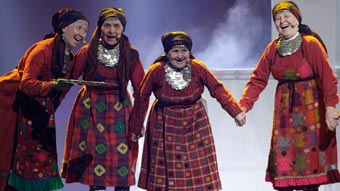 Ver v&iacute;deo  'Rusia Eurovisi&oacute;n 2012 - Buranovskiye Babushki - 1&ordf; semifinal'