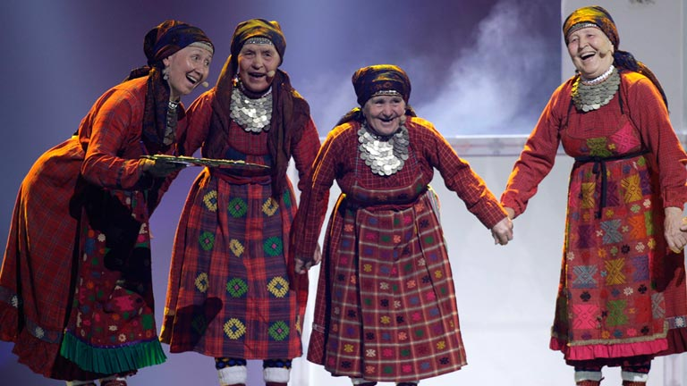 Rusia Eurovisi&oacute;n 2012 - Buranovskiye Babushki - 1&ordf; semifinal