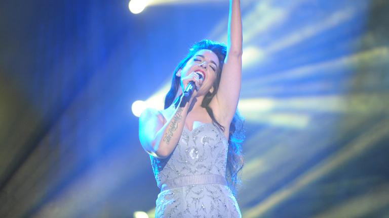 """Mira quién va a Eurovisión 2014 - Ruth Lorenzo canta """"Dancing in the rain"""""""