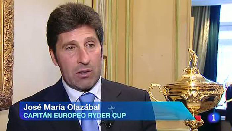 La Ryder Cup de Golf, se exhibe en Madrid