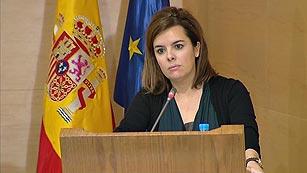 """Ver vídeo  'Sáenz de Santamaría destaca que el fondo social de alquiler nace para dar una """"segunda oportunidad"""" a las familias desahuciadas'"""