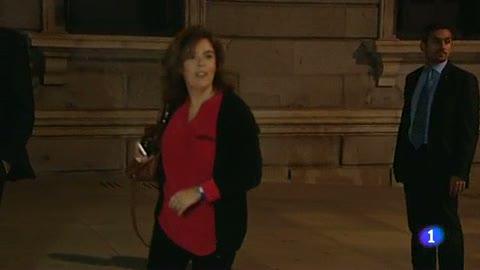 """Ver vídeo  'Sáenz de Santamaría: """"Hay que diferenciar entre los ciudadanos que se manifiestan y los que van a otras cosas""""'"""