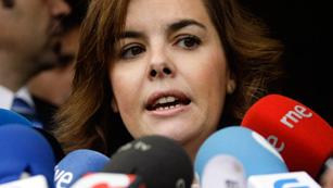 Ver vídeo  'Sáenz de Santamaría: Hay que modernizar el país y sus administraciones públicas para salir reforzados de la crisis'