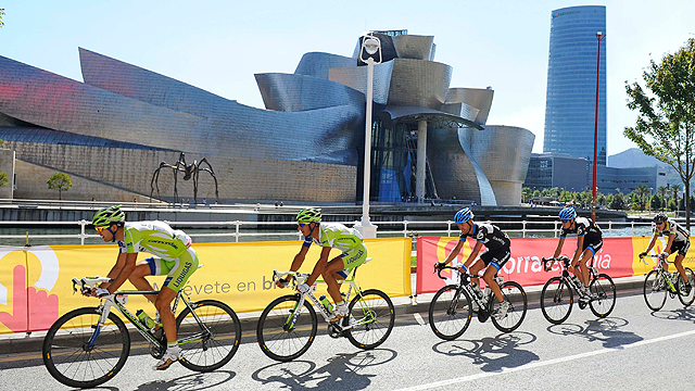 Salida en Bilbao al estilo Tour 