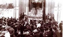 Salida de la Virgen de La Estrella, en 1932