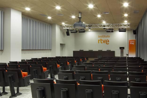 Salón de actos del instituto RTVE