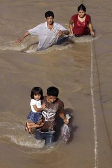 El Salvador, tras el paso del huracán Ida