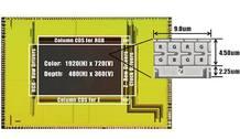 El nuevo sensor une los datos tradicionales de color en columnas de píxeles R-G-B (rojo, verde, azul) con otra columna llamada Z para la profundidad o distancia hasta los objetos