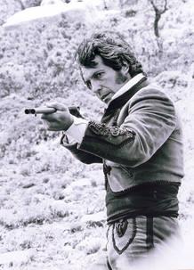 Sancho Gracia en una secuencia de la serie 'Curro Jiménez'