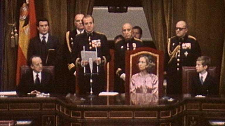 Sanción  de la Constitución Española