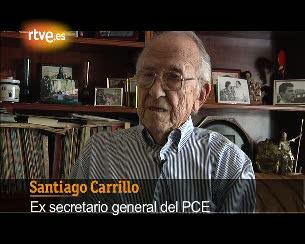 "Ver v?deo  'Santiago Carrillo: ""Suárez era el hombre que hacía falta""'"