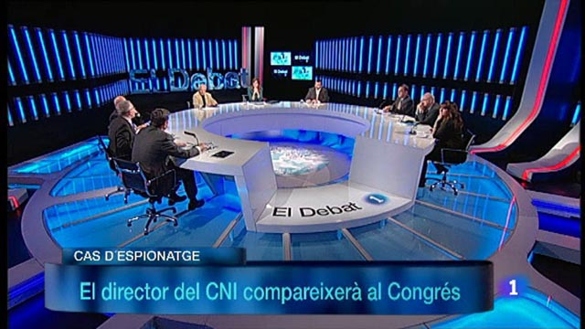 El Debat de La 1 - La trama d'espionatge a Catalunya, amb Santiago Vidal i Enrique Arranz