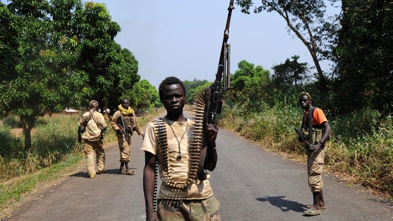 Saqueos en la capital de la República Centroafricana