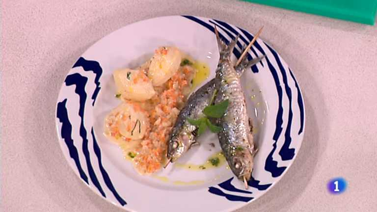 Cocina con Sergio - Sardinas al lim&oacute;n con patatas al brandy