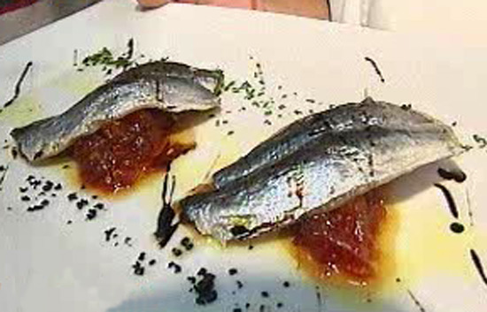 Espa&ntilde;a Directo - Sardinas con mermelada de tomate