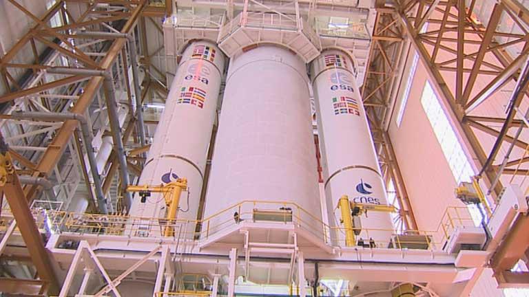La Agencia Espacial Europea pondrá en órbita el satélite GAIA, construido con participación española