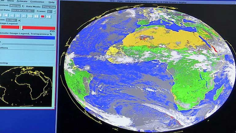 Lanzamiento del tercer satélite Meteosat de 2º generación