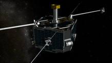Uno de los cinco satélites del proyecto Themis de la Nasa