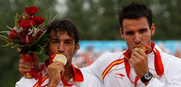 Saul Craviotto y Carlos Pérez vencen en la carrera de 500 metros de K2